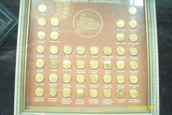 Chattanooga Choo Choo: Conductors Buttons various railroads