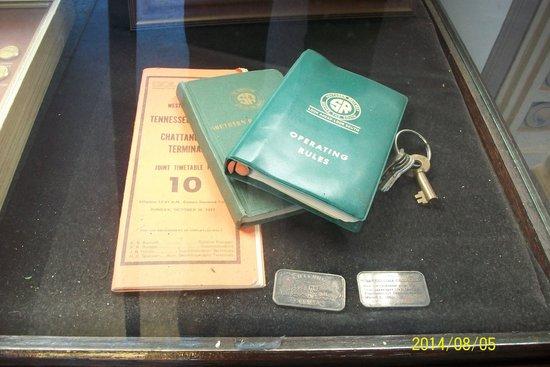 Chattanooga Choo Choo: passbooks-tickets