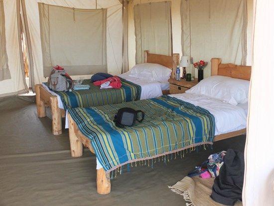 Laikipia Wilderness Camp: Twin tent