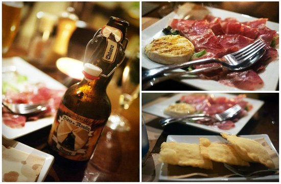 Braceria Le Gole di Cerbero : Delicious starters