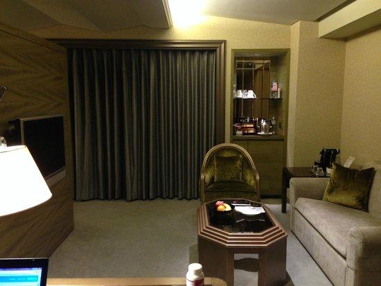 Landis Taipei Hotel: Guest Room - Living Area