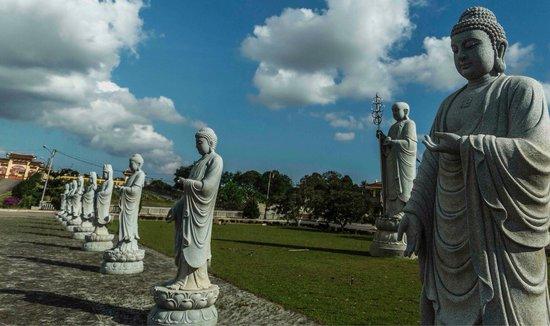 Avalokitesvara Graha Temple (Guan Yin Temple): Chinese buddhist temple, Tanjung Pinang-Indonesia