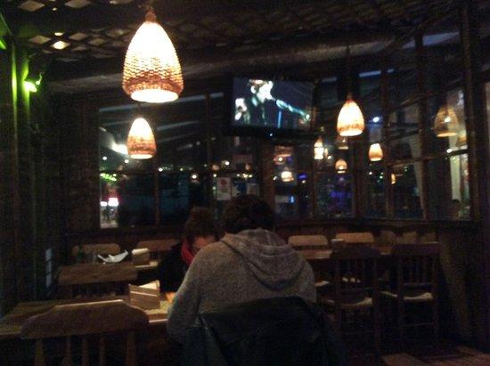 Restaurant Margarita: One of the eating areas at Margaritas