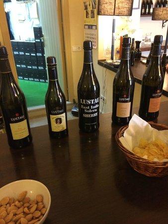 Bodegas Lustau: Sherry Tasting