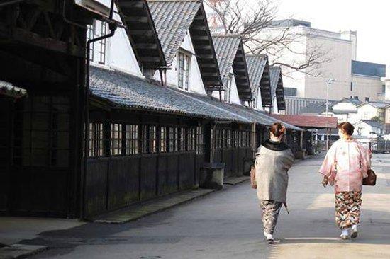 Sankyo Soko Storehouse : 12棟の倉庫が今も現役で活躍