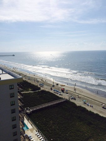 Wyndham Vacation Resorts Towers on the Grove : From our ocean view unit on the 14th floor