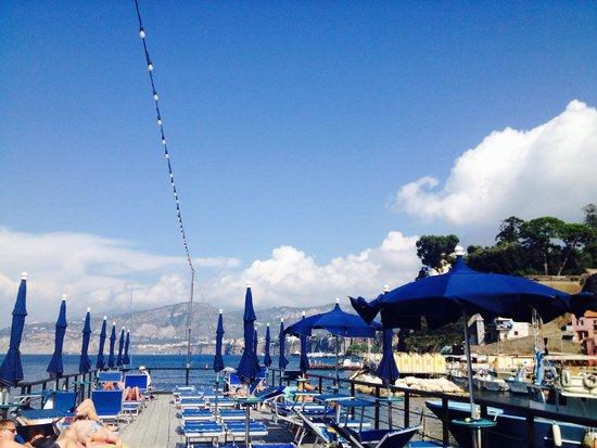 Delfino marina grande sorrento picture of ristorante bagni