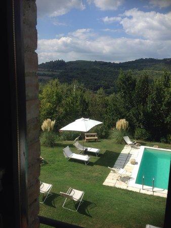 Casale San Bartolomeo : Il panorama dalla nostra finestra