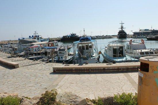 ليماناكي بيتش هوتل: порт в Айя-Напе