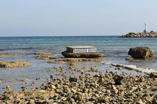 ليماناكي بيتش هوتل: пляж карусос бич