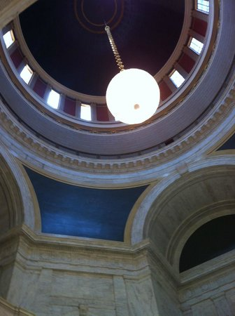 State Capitol: looking up