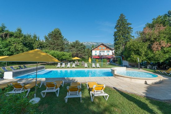 Hotel Arcalod: piscine