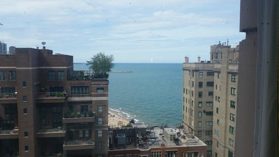 Hilton Chicago/Magnificent Mile Suites: View from room