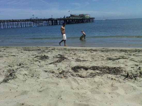 Capitola Beach: Relaxing day at the beach