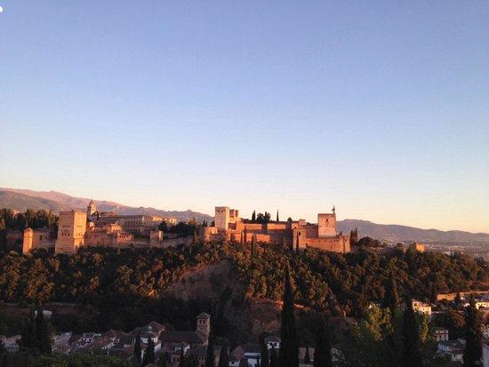 Mirador de San Nicolas: Vista da Alhambra