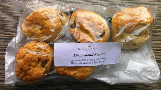 Dromoland Castle Hotel: Did I tell you about the scones?
