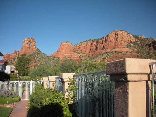 Canyon Villa Bed and Breakfast Inn of Sedona: View from Canyon Villa B&B