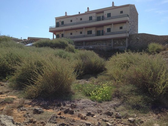 Apartamentos Solvasa Cabo de Banos: Blocco di 8 appartamenti dove alloggiavamo (piano terra)