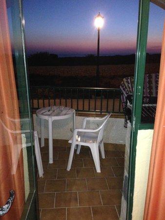 Apartamentos Solvasa Cabo de Banos: Post tramonto dalla camera