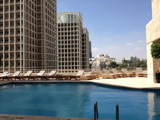 Grand Hyatt Amman : Outdoor pool
