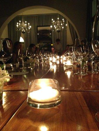 Cavas Wine Lodge: Cena