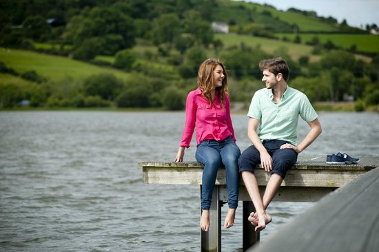 County Armagh, UK: Camlough Lake, Ring of Gullion