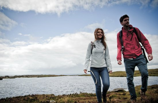 County Armagh, UK: Lake on the top of Slieve Gullion, Ring of Gullion