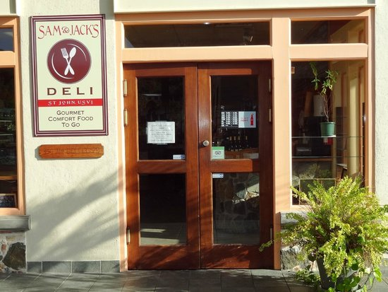 Sam & Jack's Deli: Entrance to the Deli.