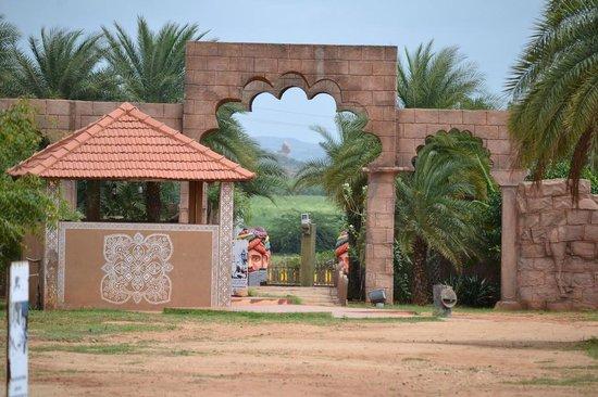 Hospet, India: Vijayshree Heritage Entrance