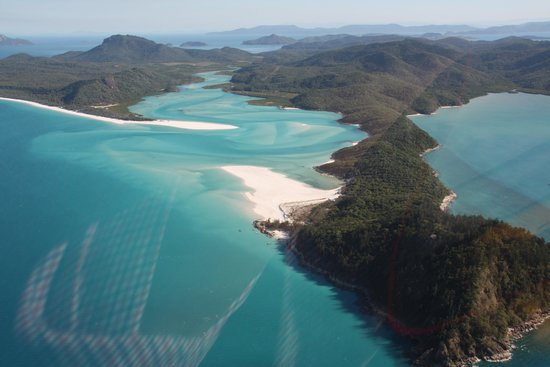 One&Only Hayman Island: Whitehaven beach