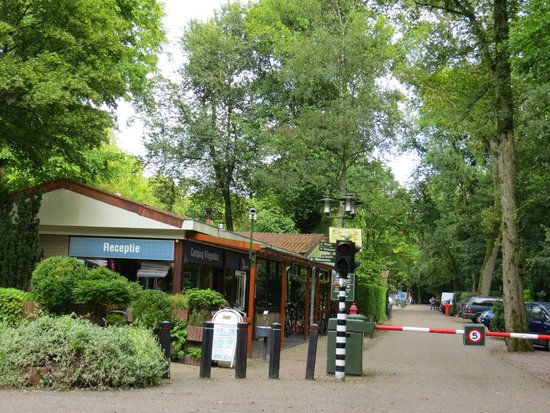 Camping Vliegenbos: Entry to the camping ground