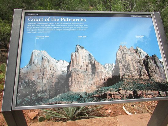 Court of the Patriarchs: the sign