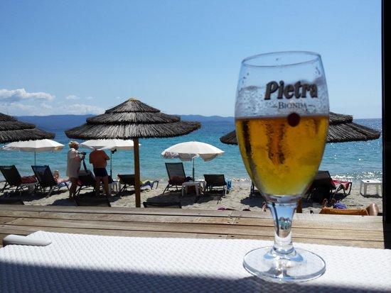 Restaurant Neptune Plage: La bière locale