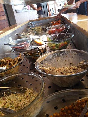 Restaurant Neptune Plage: Le buffet