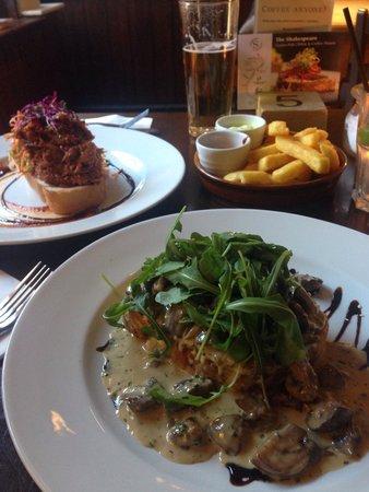 The Shakespeare Restaurant: Yum yum!!