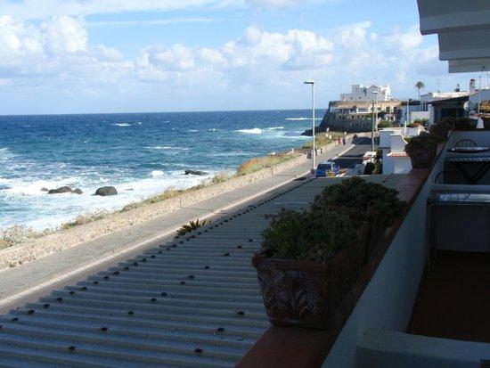 Albergo Santa Lucia: Vista dal balcone