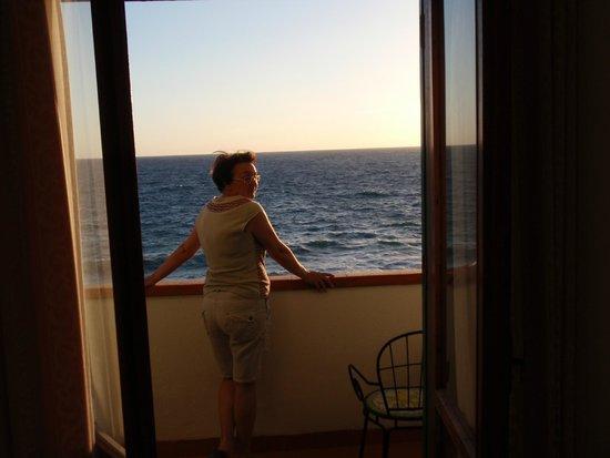 Albergo Santa Lucia: Vista dalla camera