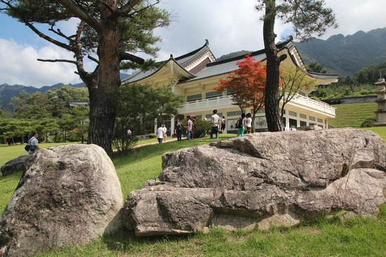 Mungyeong, Sydkorea: museum of old roads.
