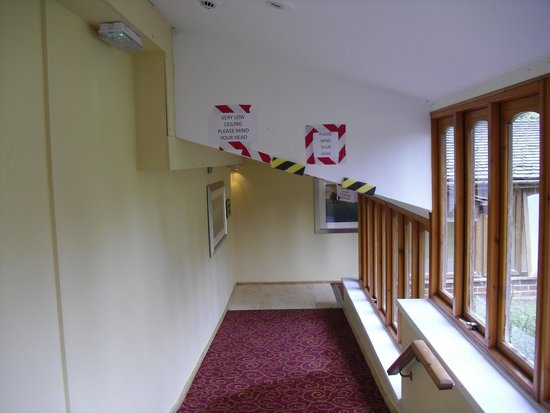 Hilton Avisford Park: mind you head if your over 4ft