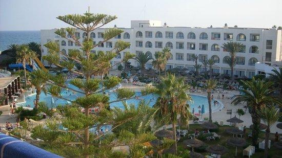 Vincci Nozha Beach Resort : Hotel from balcony
