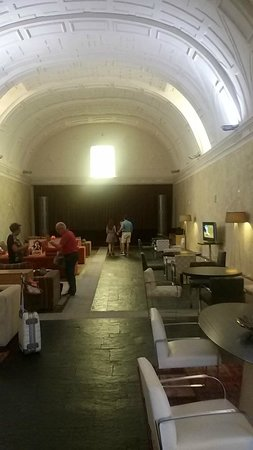 Castilla Termal Balneario de Olmedo: Sala de TV
