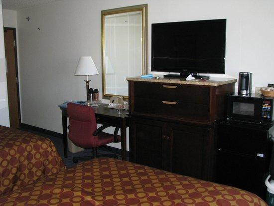 Super 8 Sanford Kennebunkport Area : Notre chambre.