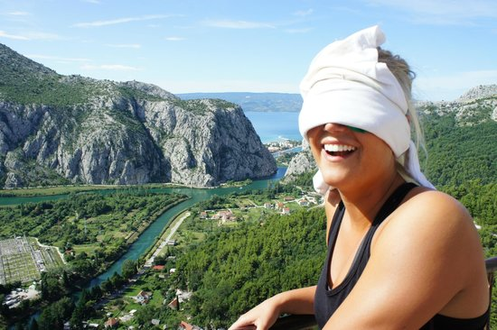 Red Adventures Croatia: suprise you are going rockclimbing!!!