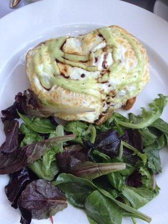 Fontaine Caffe & Creperie: Breakfast Bruschetta