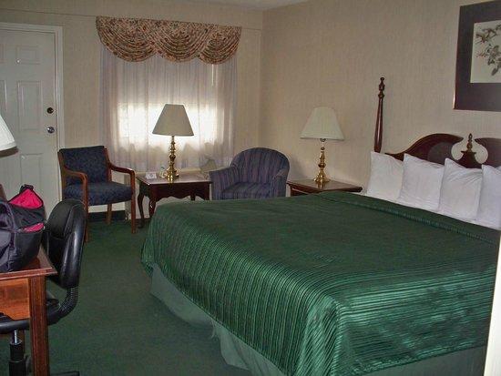 Quality Inn Gettysburg Battlefield: King room