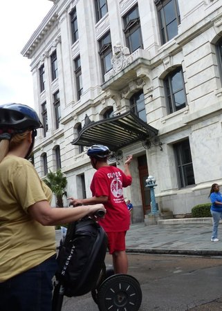 City Segway Tours New Orleans: French Quarter architecture