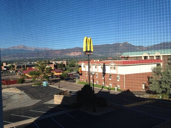 Days Inn Colorado Springs Air Force Academy: View from room 302