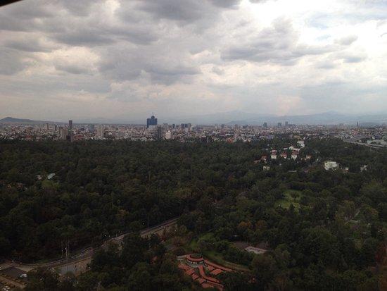 InterContinental Presidente Mexico City: Vista hacia Chapultepec , piso 35