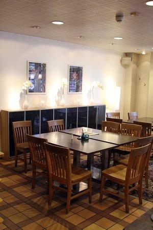 Scandic Winn : A part of the restaurant