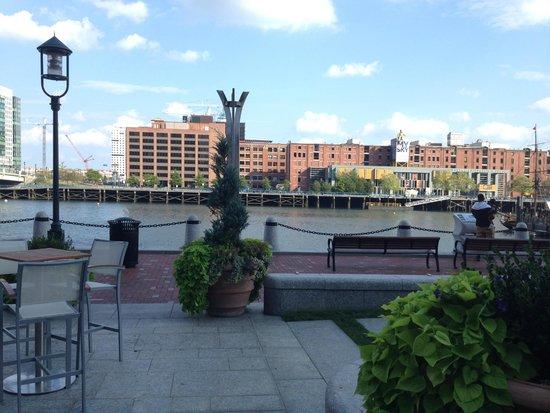 InterContinental Boston: East view